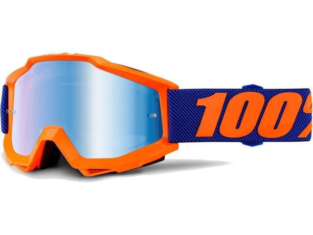 100% Accuri Anti Fog Mirror Goggles Origami